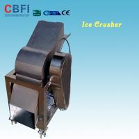 China 110 - 220V Electric Crush Ice Machine , Ice Crushing Machine 2 Tons Per Hour on sale
