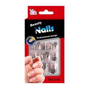 China Plastic Diamond Nail Art Fake Nails Fashion glitter for little girls on sale