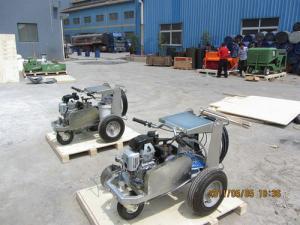 China Alinhe o Paver do fabricante que coloca a máquina, dimensão de 0.5-3km/hr 750*420*660mm on sale