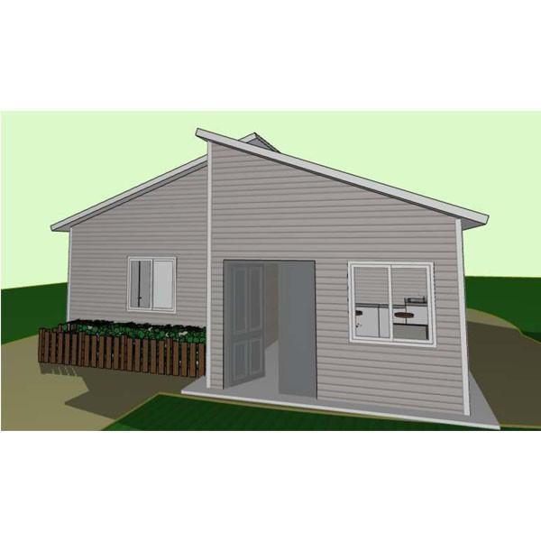 Heat Insulation Steel Frame 3 Bedroom Modular Homes South