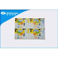 Self Adhesive Custom Paper Label Stickers For Food Packaging , Glosy Surface