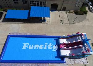 China 7 Years Life Span Big Inflatable Pool Water Park Equipment For Amusement Park on sale