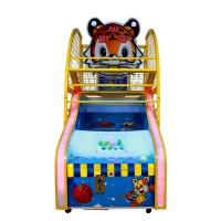 China 1 - 2 Players Basketball Shooting Arcade Machine , 120kg Indoor Basketball Arcade Machines on sale