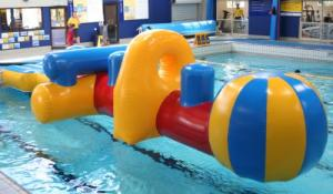China Inflatable Water Floating Airflow, Inflatable Swimming Pool Games on sale