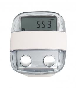 China Time Display Electronic Body Fat Pedometer DH-TM079, 10 Steps to Correct the Error Steps on sale