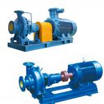Horizontal Centrifugal Chemical Resistant Pump High Efficiency For Sugar Factories