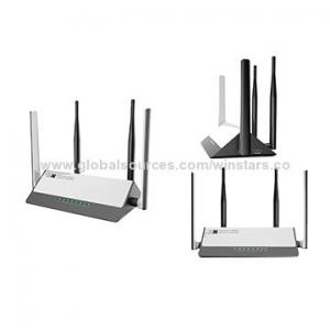China AC1200 dual band concurrent Wi-Fi router with 4x5dBi external antennas/supports 802.11ac standard on sale