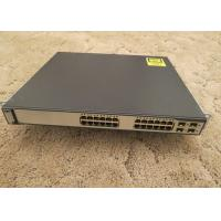 Refurbished Used Catalyst Switch 10/100/1000T POE 4 SFP Std Image WS-C3750G-24PS-S