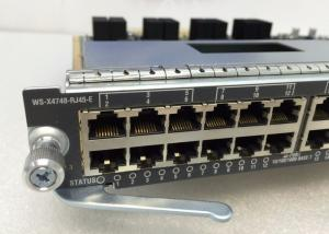 China RJ45 Port Type Cisco Catalyst 4500 Line Cards Increase Per - Slot Switching Capacity on sale
