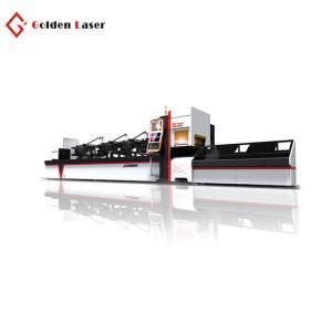 China Golden Laser CNC Fiber Tube Laser High Power 2000w Metal Tube Laser Cutting Machine for Sale on sale