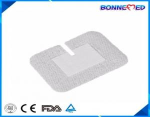 China BM-7015 Hot Sale Sterile Individul Packing Disposable Non woven U shape Infusion Fixing Medical Dressing Pad on sale