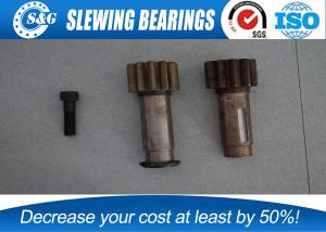 China Custom Standard Spur Gear Shaft , Worm Shaft Gear With Gear Quenching Heat Treatment on sale