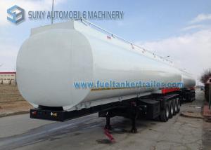 China Heavy Duty Elliptical 4 Axle Oil Tank Trailer Container Semi Trailer on sale