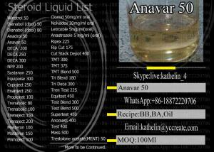 Steroids Semi Finished Liquid Oxandrolone Anavar 50