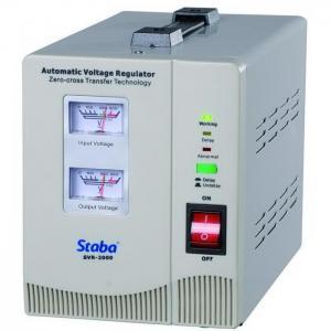China Classic Relay Type Voltage Regulator, Voltmeter Display on sale