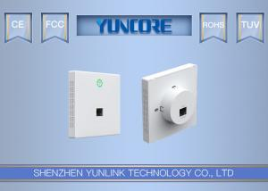 China 802.11ac 750Mbps Dual Band Inwall Access Point, Euro Size, for Office Hotel WiFi on sale