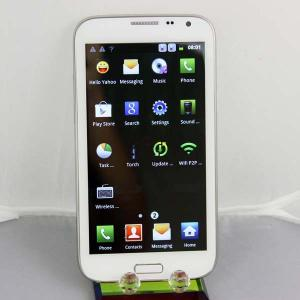 China 5 Inch Touchpad Mobile Phones , White MTK6575 With 3G / Wifi on sale