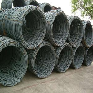 China SAE 1008B /SAE1006B hot rolled steel wire rod with boron for selling on sale