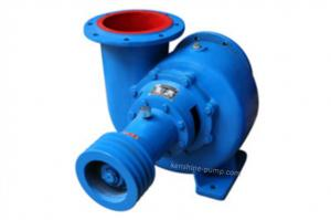 China HW horizontal mixed flow pump drainage pump supply water pump irrigation pump big flow rate low head on sale