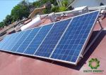 Pre - Assemble Flat Roof Solar Mounting System Anodized Triangular Structure Rooftop Bracket Aluminum Solar PV