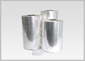 China Plastic PVC Heat Shrinkable Film Rolls Blow Molding Processing For Glass Bottle Labels on sale
