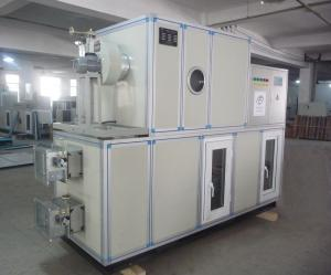 China Energy Saving Industrial Drying Equipment , Silica Gel Dehumidifier with AHU on sale