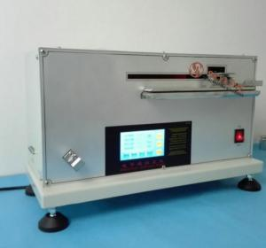 China SL - F37 Fabric Automatic Stiffness Tester With Bending Length And Stiffness on sale