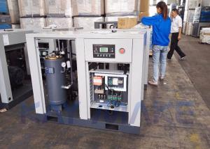 China 100HP 75KW Belt Driven Air Compressor With Efficient Oil Filtration System on sale