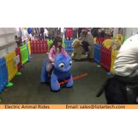 China Indoor Playground Walking Stuffed Animals Animal Riding Plush Electrical Animal Toy Rides on sale