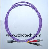 China MTRJ-ST OM4 Fiber Optic Cable on sale