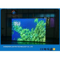 Waterproof HD Large P6 Led TV Advertising Displays For Stage Background