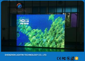 China Waterproof HD Large P6 Led TV Advertising Displays For Stage Background on sale