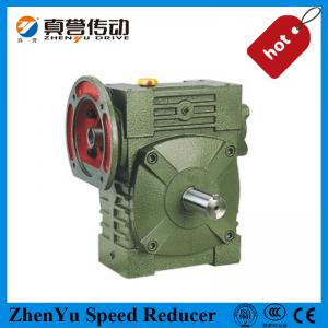 China Custom Helical Worm Gear Reducer , Flange Mounted Speed Reducer Gearbox on sale