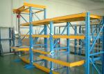 Roll Out Injection Mold Racks Customized Tool Storage With Manual Movable Carriage