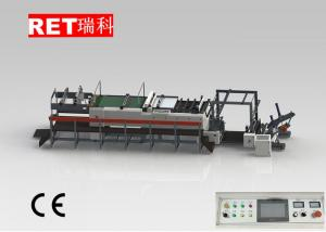 China Fully Automatic Paper Cutter , PLC Control Paper Roll Cutting Machine on sale