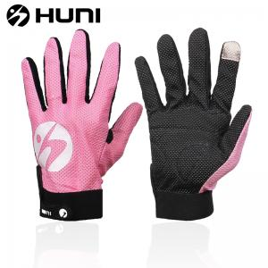 China Huni high quality long finger cycling gloves, new style on sale
