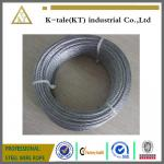 6x19+FC stainless steel cable for metal building
