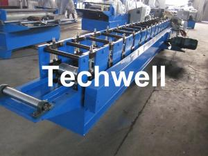 China Automatic Steel Guide Rail Cold Roll Forming Machine for Making Security Door Guide Tracks on sale