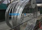 Нержавеющая сталь S30400/1,4301 свернула спиралью трубопровод для боилера и теплообменного аппарата