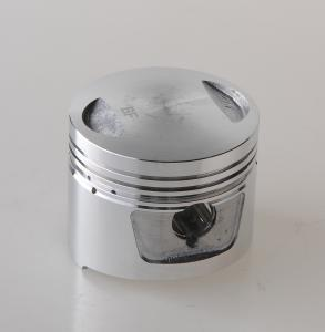 China Aluminum Alloy 4 Stroke Engine Piston For Motorcycle ZIP50 NRG50 CX50 on sale