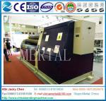 Máquinas hidráulica do rolamento/de dobra da placa de 4 rolo MCLW12CNC-20*2500 com padrão do CE