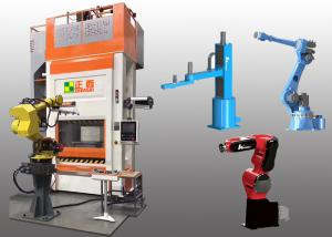 China PLC Control Industrial Robotic Arm Hydraulic Press Machine With Robotic Systems on sale