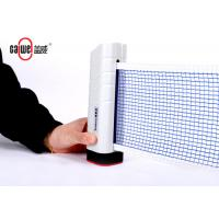 Interior Retractable Table Tennis Net Set , Compact Portable Ping Pong Table Kit