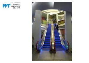 China High Insulating Level Commercial Escalator , Economical Outside Escalator Speed ≤0.5m/s on sale