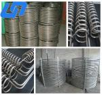 China titanium coil tube for heat exchanger for water dispenser for aquarium for heating and cooling wholesale