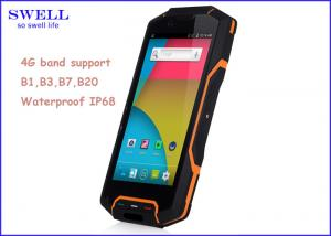 China Dust Resistant Dual Sim Waterproof Smartphone Support Wifi GPS FM Bluetooth on sale
