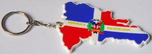 China Decoration Custom Pvc Keychains For Promotion Gift , Printed Logo on sale