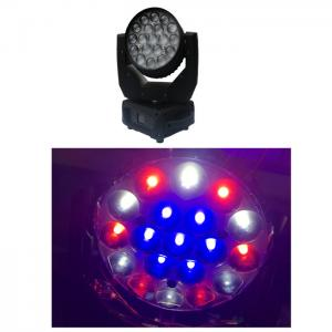 Quality Mac Aura LED Zoom Moving Head Light With Eye Candy Effect / Pan Angle 540° for sale