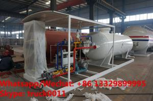 China Customized CLW 5ton gas cylinder LPG bottling plant 50000 liters lpg gas station for sale, skid lpg gas dispensing plant on sale