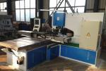 Controle hidráulico do trabalhador do ferro da máquina de perfuração do CNC do aço do perfil